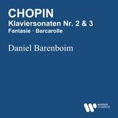 Chopin: Klavierkonzertsonaten Nr. 2 & 3 - Fantasie - Barcarolle de Daniel Barenboim