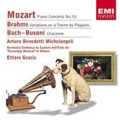 Bach/Busoni, Brahms & Mozart de Various Artists