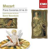 Mozart: Piano Concerto Nos 22 & 23 by Daniel Barenboim