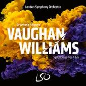 Vaughan Williams: Symphonies Nos. 4 & 6 by Antonio Pappano