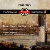 Prokofiev: Piano Concertos Nos. 1 & 3 by Martha Argerich