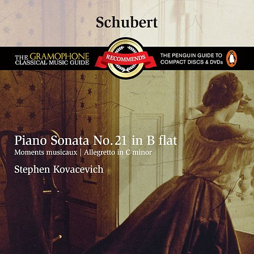 Schubert: Piano Sonata No.21 D960, etc by Stephen Kovacevich