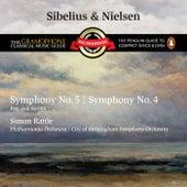 Sibelius: Symphony No.5 & Nielsen: Symphony No.4 by Sir Simon Rattle