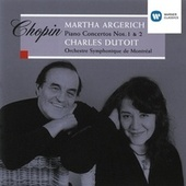 Chopin: Piano Concertos Nos. 1 & 2 by Martha Argerich