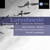 Lutoslawski: Symphonies 1 & 2 by Witold Lutoslawski