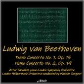 Beethoven: Piano Concerto No.1, Op. 15 - Piano Concerto No. 2, Op. 19 by Artur Schnabel