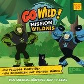 Folge 37: Ein pelziges Fundstück / Von schwarzen und weißen Bären ( Das Original Hörspiel zur TV-Serie) von Go Wild! - Mission Wildnis