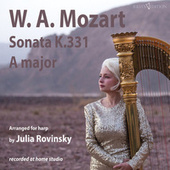Sonata A major K.331 fra Julia Rovinsky