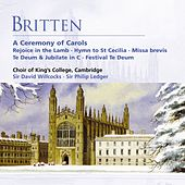 Britten: A Ceremony of Carols etc von Choir of King's College, Cambridge