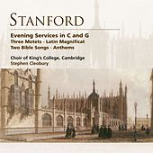 Stanford: Evening Services in C & G etc de Choir of King's College, Cambridge