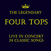The Very Best of the Four Tops Live by The Four Tops