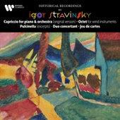 Stravinsky: Capriccio, Octet, Pulcinella, Duo concertant & Jeu de cartes by Igor Stravinsky