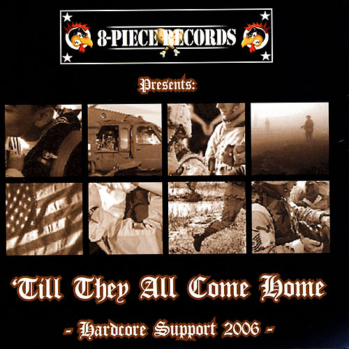 'Till They All Come Home - Hardcore Support 2006 von Various Artists