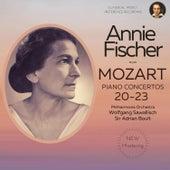 Mozart: Piano Concertos Nos. 20, 21, 22, 23 by Annie Fischer