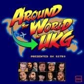Around the World in UKG fra Indialman, Bowser, Hitch.93, DJ Djegor, Kiefer Ian, DubbalifE, Keiju(JP), Ododdnt, DJ Blaize
