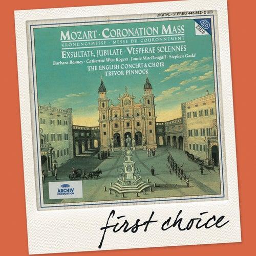 Mozart: Coronation Mass; Exsultate, jubilate; Vesperae solennes by Various Artists