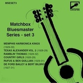 Matchbox Bluesmaster Series, Set 3: Country Blues & Harmonica Kings 1927-31 fra Various Artists