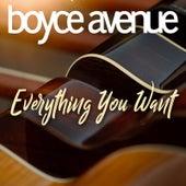 Everything You Want de Boyce Avenue