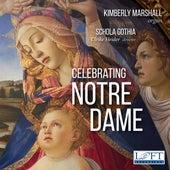 Celebrating Notre Dame von Kimberly Marshall