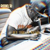 l'oeil dans le rétro de Rebel R
