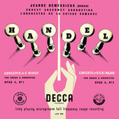 Jeanne Demessieux - The Decca Legacy (Vol. 4: Jeanne Demessieux plays Handel and Bach at Victoria Hall, Geneva) de Jeanne Demessieux