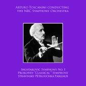 Arturo Toscanini conducting NBC Symphony Orchestra: Shostakovic Symphony No. 1 / Prokofiev