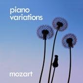 Mozart: Piano Variations de Wolfgang Amadeus Mozart