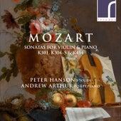 Mozart: Sonatas for Violin & Piano, K. 301, K. 304, K. 305 & K. 454 von Peter Hanson