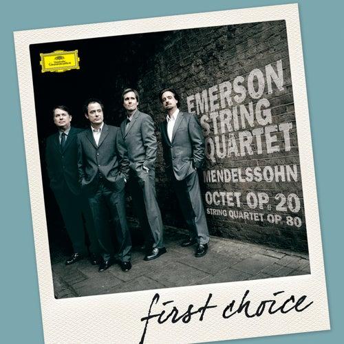 Mendelssohn: Octet, Op.20; String Quartet, Op.80 by Emerson String Quartet