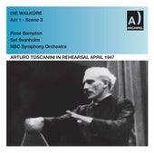 Arturo Toscanini Rehearses Die Walküre Act 1 - Scene 3 von NBC Symphony Orchestra