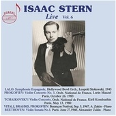 Isaac Stern, Vol. 6 (Live) by Isaac Stern