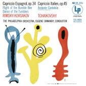 Rimsky-Korsakov: Capriccio espagnol, Op. 34 - Tchaikovsky: Capriccio Italien, Op. 45 (Remastered) de Eugene Ormandy