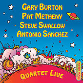 Quartet Live! by Gary Burton