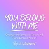 You Belong With Me (Originally Performed by Taylor Swift) (Piano Karaoke Version) de Sing2Piano (1)