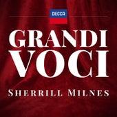 GRANDI VOCI - SHERRILL MILNES - Una collana dedicata con registrazioni originali Decca e Deutsche Grammophon rimasterizzate con le tecniche più moderne che ne garantiscono eccellenza tecnica e artistica von Sherrill Milnes