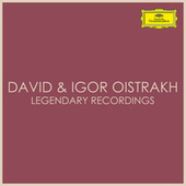 David & Igor Oistrakh - Legendary Recordings de Igor Oistrakh