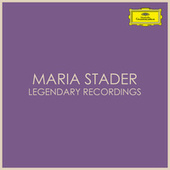 Maria Stader - Legendary Recordings von Maria Stader
