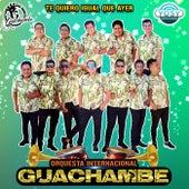 Te Quiero Igual Que Ayer de Orquesta Internacional Guachambe