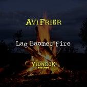 Lag Baomer Fire by Avi Frier