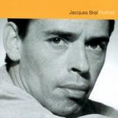 Jacques Brel Portrait von Jacques Brel