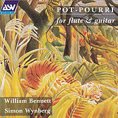 'Pot-Pourri' for flute & guitar by William Bennett