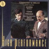Tchaikovsky & Sibelius Violin Concertos/Dvorák: Romance de Itzhak Perlman