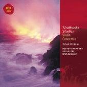 Tchaikovsky & Sibelius Violin Concertos: Classic Library Series de Itzhak Perlman