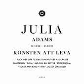Konsten att leva by Julia Adams