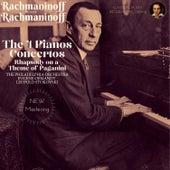 Rachmaninoff plays Rachmaninoff: The 4 Piano Concertos, Rhapsody on a Theme of Paganini von Sergei Rachmaninov
