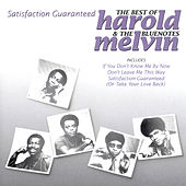 Satisfaction Guaranteed - The Best Of Harold Melvin & The Bluenotes de Harold Melvin & The Blue Notes