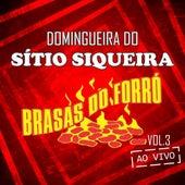 Domingueira do Sítio Siqueira, Vol. 3 (Ao Vivo) de Brasas do Forró