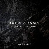 If I Ain't Got You (Acoustic) by John Adams