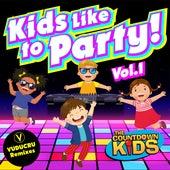 Kids Like to Party! Vol. 1 (Nursery Rhyme Dance Remixes) von The Countdown Kids