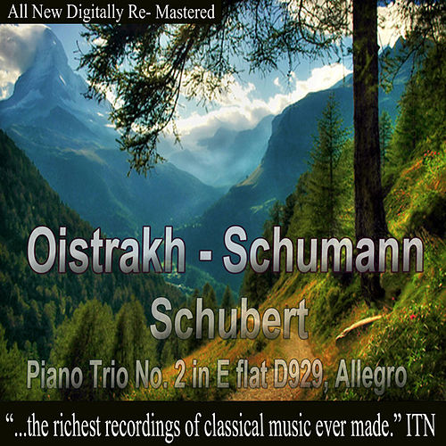 Oistrakh - Schumann, Schubert, Piano Trio No. 2 in E-Flat D929, Allegro by David Oistrakh